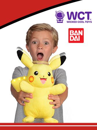 En avant toute avec Pikachu