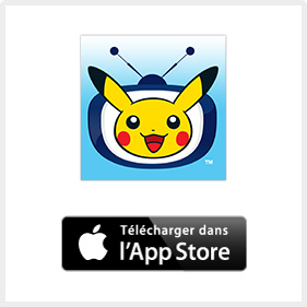 TV Pokémon sur l'App Store d'Apple