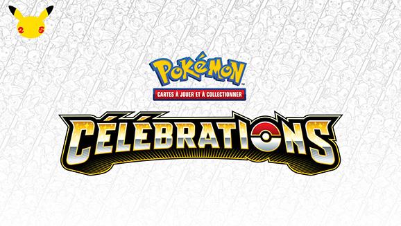 L'extension Célébrations du JCC Pokémon est arrivée