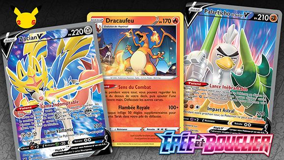 Les cartes préférées de la région de Galar de certains des meilleurs joueurs du JCC Pokémon