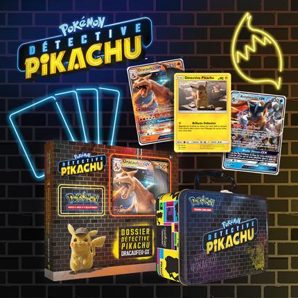 Lancez-vous dans l'enquête avec les cartes de Détective Pikachu !