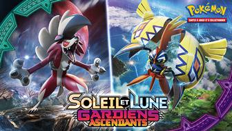 Les gardiens des îles sont prêts à combattre dans le JCC Pokémon