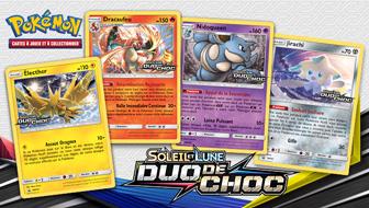 Testez de nouvelles cartes avec vos amis dans une Avant-première de Soleil et Lune – Duo de Choc !