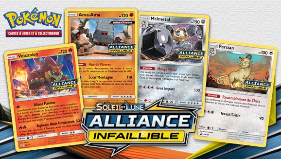 Soyez les premiers à découvrir l'extension <em>Soleil et Lune– Alliance Infaillible</em> en tournois d'Avant-première