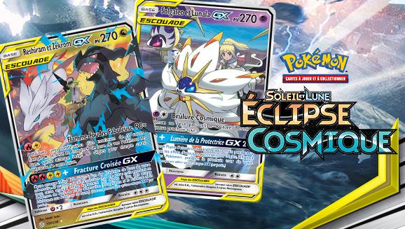 Pokémon et Dresseurs réunis pour l'éclipse cosmique