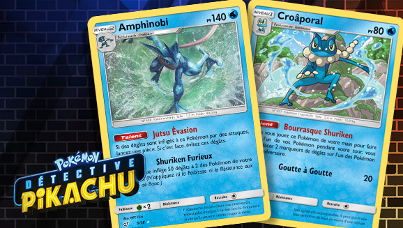 Astuces du deck Détective Pikachu : Amphinobi