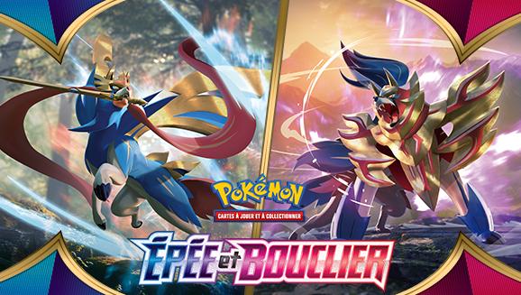 Préparez-vous au combat avec l'extension Épée et Bouclier du JCC Pokémon