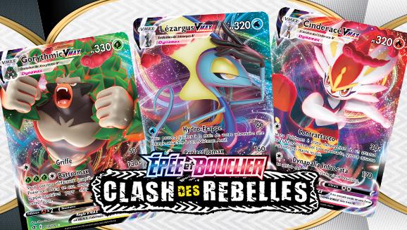 Les Pokémon de départ évoluent en Pokémon-VMAX