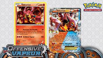 Ça chauffe avec Volcanion-EX !