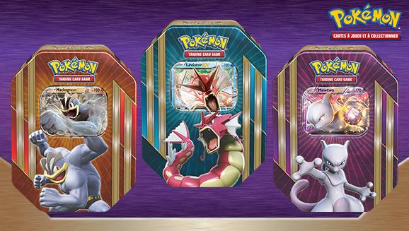 Boîte <em>Triple Puissance</em> du JCC Pokémon
