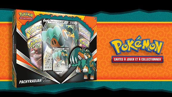 Coffret Pachyradjah-V du JCC Pokémon
