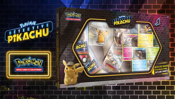 Collection avec figurine <em>Détective Pikachu</em> – En pleine enquête