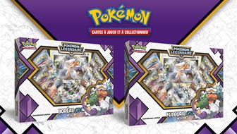 JCC Pokémon : Coffret Boréas-<em>GX</em> | JCC Pokémon : Coffret Fulguris-<em>GX</em>