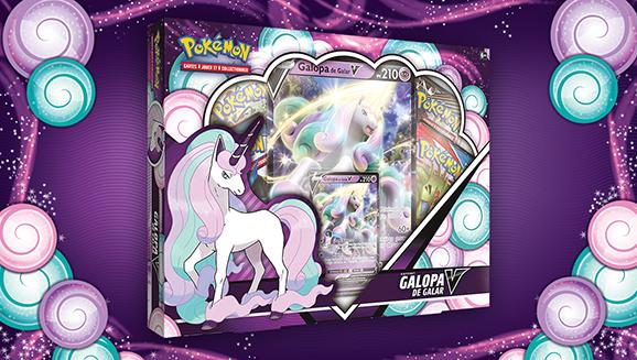 Déchaînez vos pouvoirs psychiques avec le Coffret Galopa de Galar-V du JCC Pokémon !