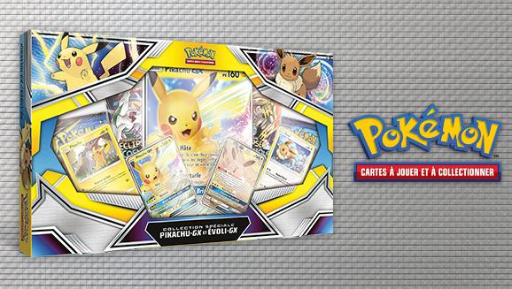 Collection spéciale – Pikachu-<em>GX</em> et Évoli-<em>GX</em>