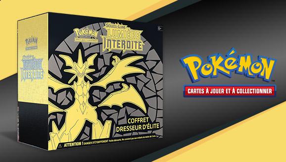 JCC Pokémon : Coffret Dresseur d'élite <em>Soleil et Lune – Lumière Interdite</em>