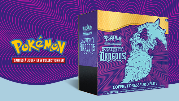JCC Pokémon : Coffret Dresseur d'élite <em>Majesté des Dragons</em>