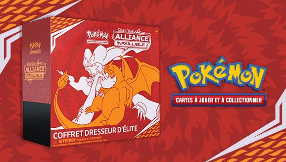 JCC Pokémon : Coffret Dresseur d'élite <em>Soleil et Lune – Alliance Infaillible</em>