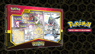Une collection destinée à tous les fans de Pokémon célestes