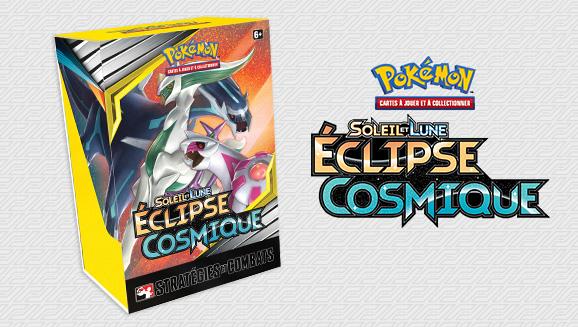 Boîtier Stratégies et <em>Combats de Soleil et Lune – Éclipse Cosmique</em>