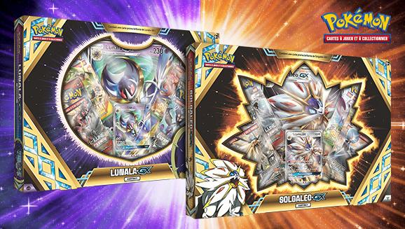 JCC Pokémon : Coffrets Solgaleo-<em>GX</em> et Lunala-<em>GX</em>