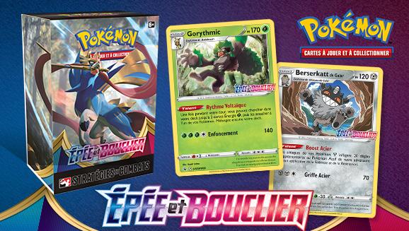 Passez à l'attaque avec l'extension Épée et Bouclier du JCC Pokémon