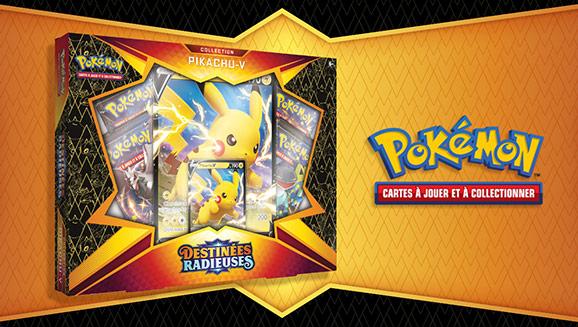 Collection <em>Destinées Radieuses</em>&nbsp;– Pikachu&#8209;V