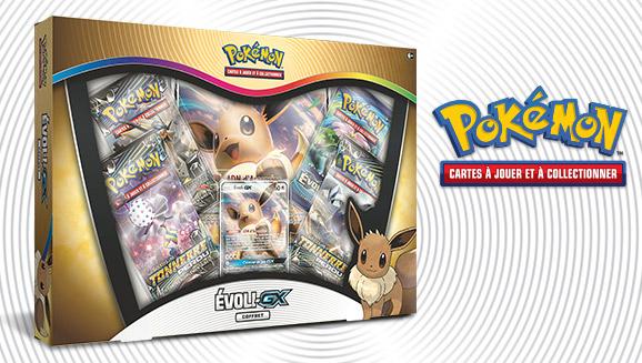 JCC Pokémon : Coffret Évoli-<em>GX</em>