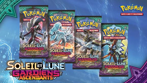 <em>Soleil et Lune – Gardiens Ascendants</em> du JCC Pokémon