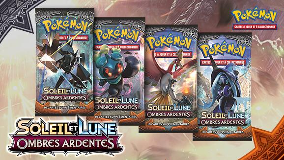 <em>Soleil et Lune – Ombres Ardentes</em> du JCC Pokémon