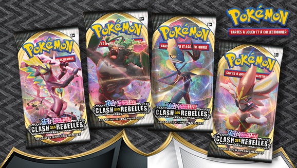 JCC Pokémon : <em>Épée et Bouclier – Clash des Rebelles</em>