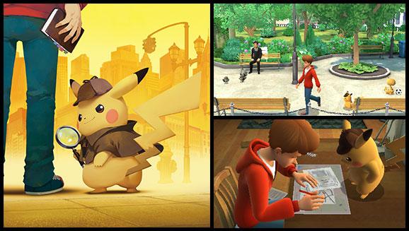 Menez l'enquête dans <em>Détective Pikachu</em> !