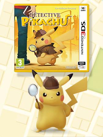 Résolvez des mystères avec Pikachu