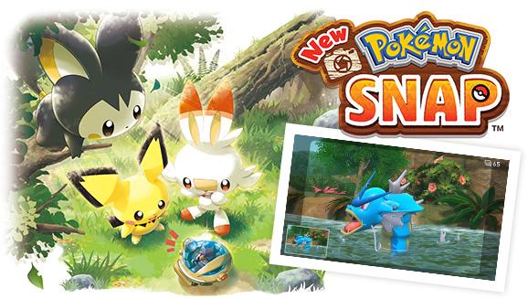 Sortez votre appareil et faites la mise au point — une mise à jour arrive sur New Pokémon Snap
