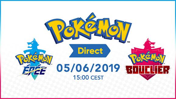 Des révélations sur Pokémon Épée et Pokémon Bouclier arrivent le 5 juin