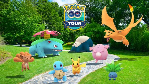Célébrez la région de Kanto avec le Circuit Pokémon GO : Kanto