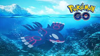 Naviguez vers Kyogre dans Pokémon GO