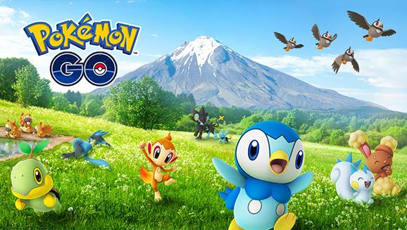Les célébrations de Sinnoh dans Pokémon GO mettent en vedette des Pokémon de la région de Sinnoh