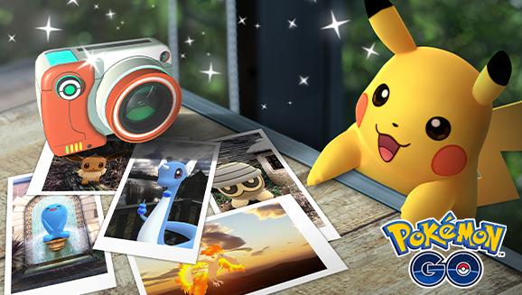 En toute liberté, photographiez vos Pokémon dans <em>Pokémon GO</em>