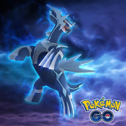 Il est temps d'attraper Dialga dans les Combats de Raids de Pokémon GO