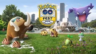 Annonce des Festivals Pokémon GO de 2019