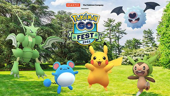 Le Festival Pokémon GO 2021 arrive !
