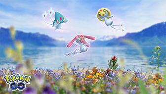 Attrapez Créhelf, Créfollet ou Créfadet dans les Combats de Raids de Pokémon GO
