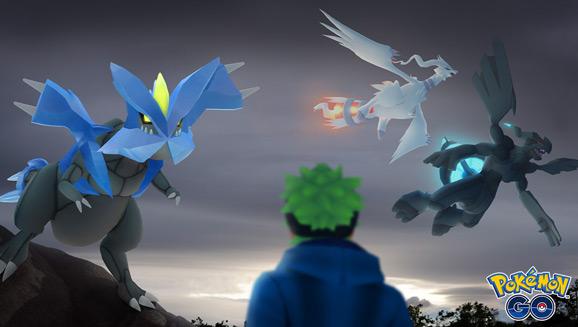 Reshiram enflamme Pokémon GO