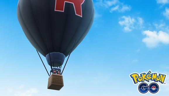 La Team GO Rocket s'empare du ciel