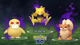 De nouveaux Pokémon Obscurs arrivent dans Pokémon GO