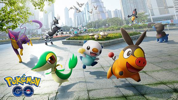 Des Pokémon découverts à Unys arrivent dans Pokémon GO