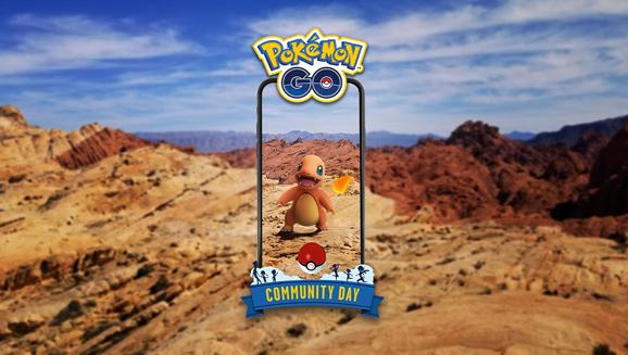 Salamèche est la star de la Journée Communauté de Pokémon GO d'octobre