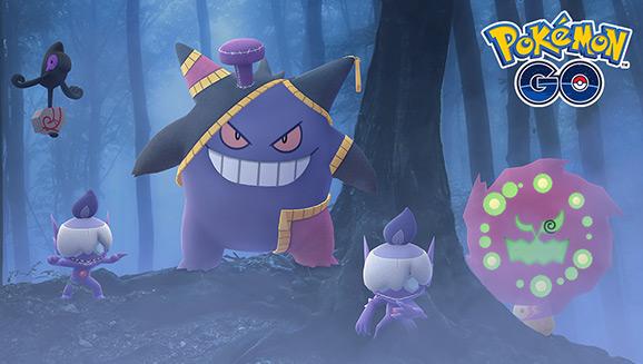 Pokémon GO offre aux Dresseurs de nouvelles rencontres avec des Pokémon pour Halloween