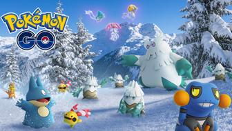 Un hiver splendide dans Pokémon GO